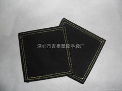 canvas teacup mat