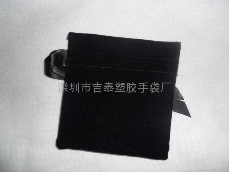 绒布束口袋 1