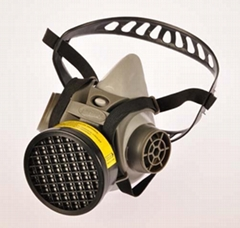 New Design Single cartridge Mask protecting from Dust & Toxic Gas with CE certif