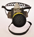 New Design Single cartridge Mask protecting from Dust & Toxic Gas with CE certif 2