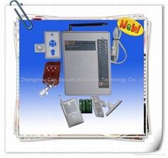 telephone alarm system/home security alarm system