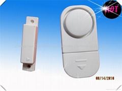 Door alarm. Door sensor. Door detector. Door magnetic sensor