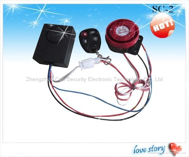 Moto /elec car burglar alarm system 2