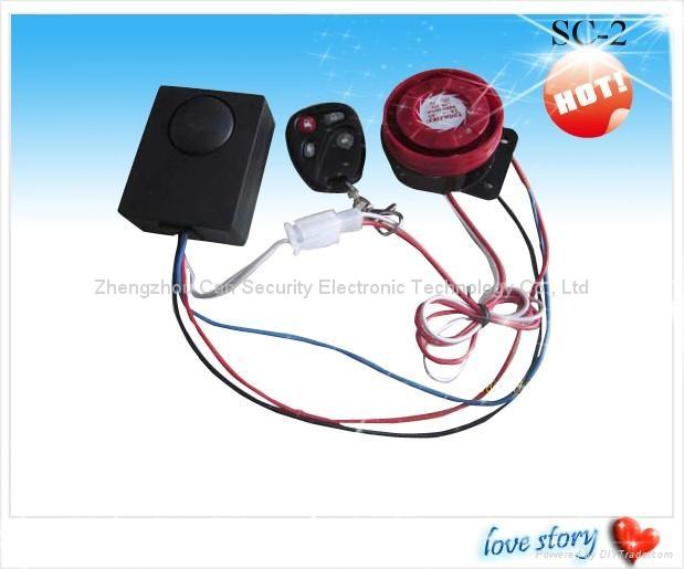 Moto /elec car burglar alarm system 3