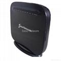 VDSL2 4-port FE (2*2) 11n USB2.0 wireless router. 4