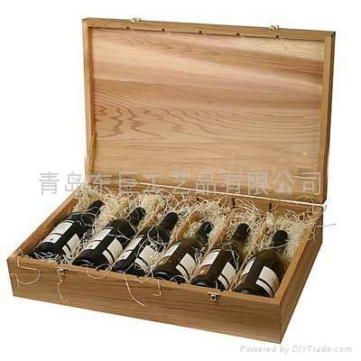 wooden gift wine box - DJ-JH-002 - Oriental giant (China ...