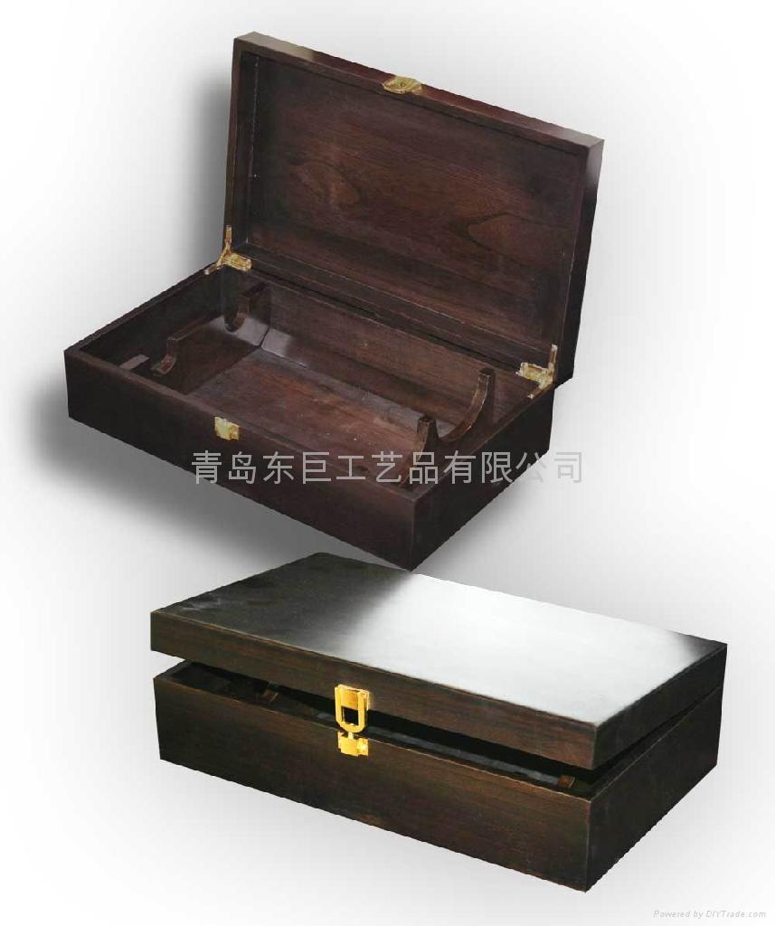 木製酒盒 4