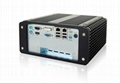 NORCO BIS-6592DV Fanless Embedded PC with Multiple Ethernet ports and DVD Drive 1