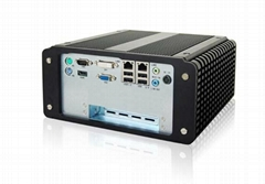 NORCO BIS-6592DV Fanless Embedded PC with Multiple Ethernet ports and DVD Drive