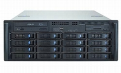 NS1630 4U NAS+ISCSI Mode Storage Array with 16 HDD Trays