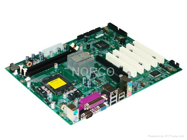 High Performance ATX Motherboard With 5 PCI 1