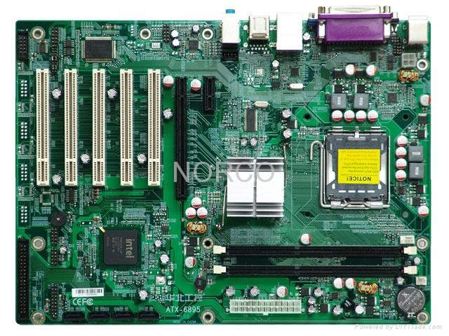 High Performance ATX Motherboard With 5 PCI 3