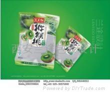 西安猕猴桃包装设计一包装袋设计