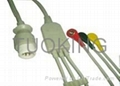 PHILIPS one piece ecg cable with leadwires