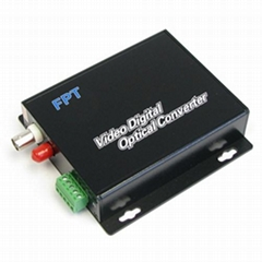 1 Chan Fiber to  video Converter