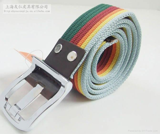 Canvas belt for lady CB0067 1