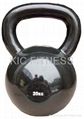 Polished Smooth Surface Cast Iron Kettlebell(A19)