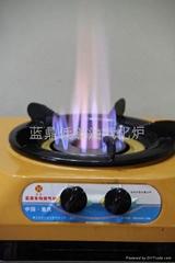 节能无风机生物低碳油气化炉灶