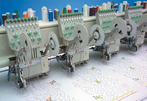 亮片装置型刺绣机 4
