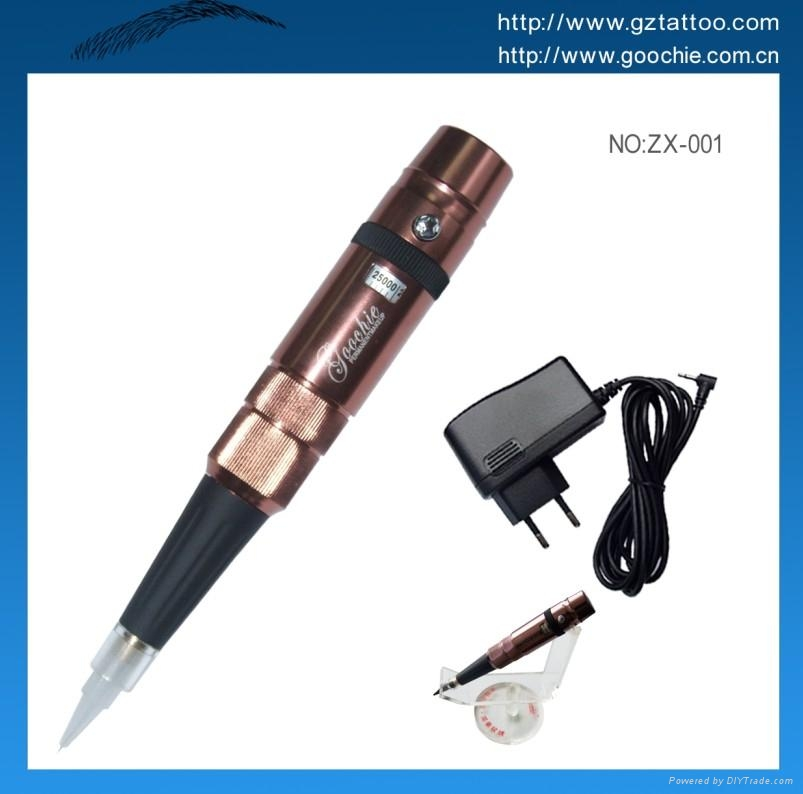 Professional goochie tattoo pen zx121401 china for How to make tattoo gun with pen