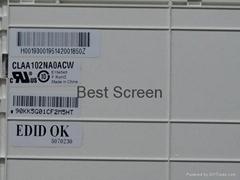 10.2-inch LCD Screen CLAA102NA0ACW Matte 1024x600 LED Backlight