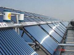 请来电太阳能热水工程