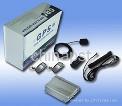 GSM and GPS Vehicle Tracking Alarm System