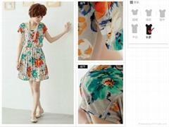 2012夏季韓版連衣裙