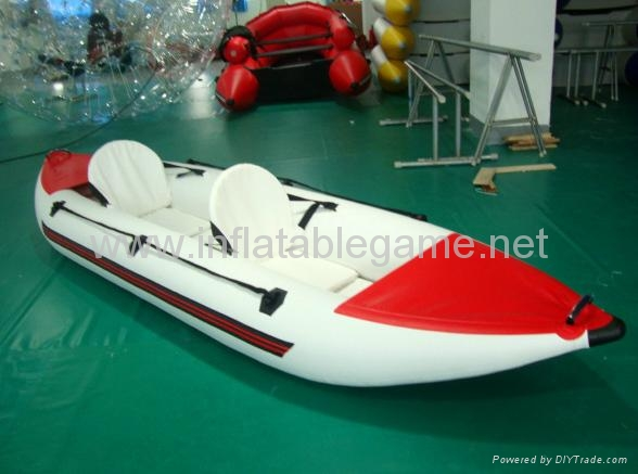 Red and white Inflatable boat (China Manufacturer