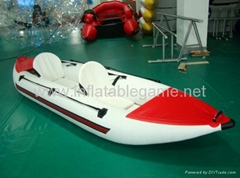 Red and white Inflatable
