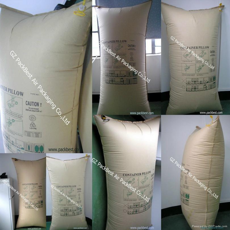 厂家现货供应集装箱专用缓冲充气袋 3