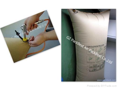 厂家现货供应1000*1800mm集装箱专用缓冲充气袋 3