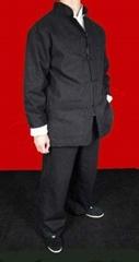 Black Cotton Kung Fu Martial Arts Tai Chi Uniform Suit