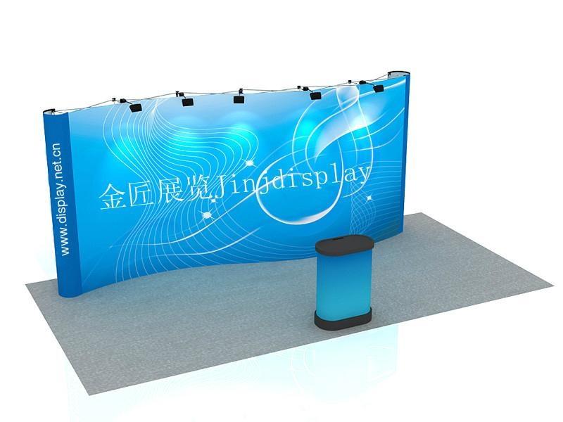 多媒体产品展台设计制作 2