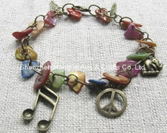 Natural seashel bracelet