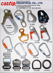 Safety Belt Buckles,Snap Hooks. Carabiners
