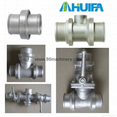 Hose Pipe Tee Joint with Control Valve