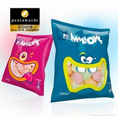 Candy packaging bags