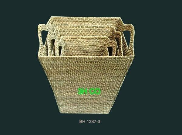 Wicker Basket Manufacturers South Africa : Rattan basket sd  h co vietnam manufacturer