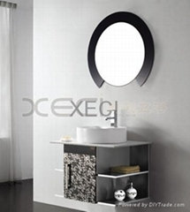 Black and white cabinet XC9030