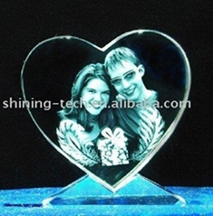 3d Laser Crystal Craft lovers