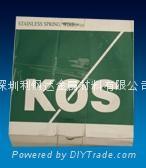 韩国象牌KOS不锈钢弹簧钢丝 2