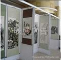 广州书画展板搭建
