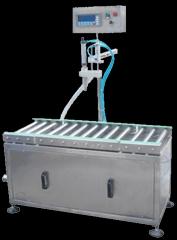 灌裝機械1電子稱重式灌裝機