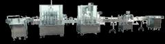 灌裝機械1液體灌裝生產線