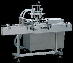 灌裝機械1直線式雙頭液體灌裝機