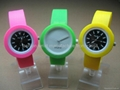Silicone Bracelet O'Clock Watches