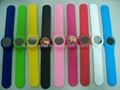 Silicone LED Slap Watches