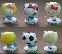 Polyresin Hello Kitty Figurines