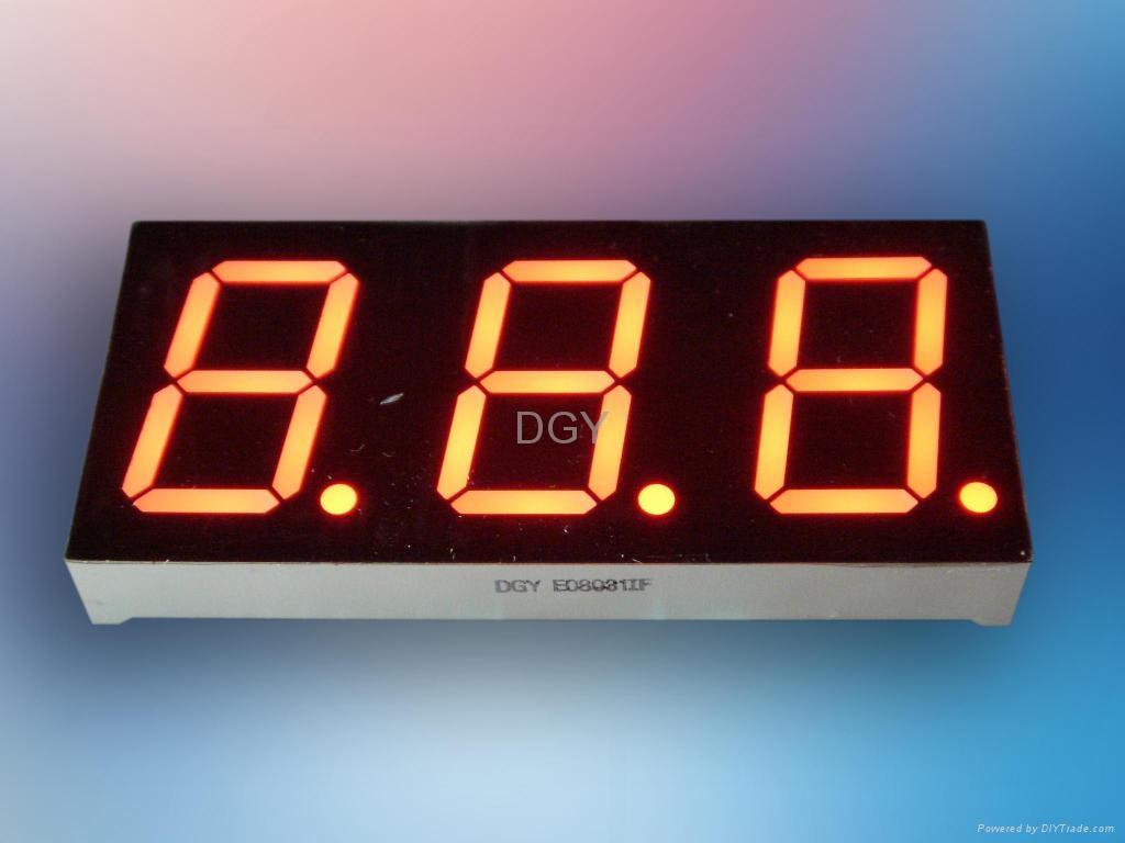 Led Numeric Display 8 Segments Dgy China Manufacturer